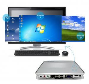 China mini itx ubuntu mini pc X3700,2G RAM,8G SSD,Intel Celeron 1037U dual core 1.8GHZ,for call center,school,bank,hotel,cafe on sale
