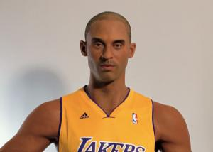 China Amazing Realistic Wax Sculptures Kobe Bryant Wax Figure For Museum Display on sale