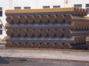 China 08Yu, 08Al oiled / black color / galvanized round, Square Welded Steel Pipes / Pipe on sale
