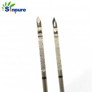 China Sinpure Customized Stainless Steel 304 needle cannula with groove on sale