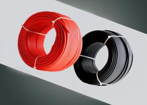 China PV Solar Single Core Electrical Cable / Solar Cable 4mm2 2pfg1169 Approved on sale