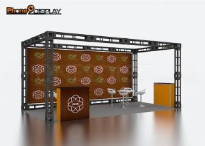 China Easy Assemble Spigot Truss Trade Show Booth / Outdoor 10x10 Truss Booth on sale