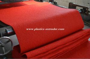China Plastic Floor Mats Production Line , PVC Materials Carpet Making Machine on sale