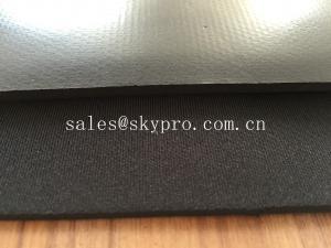 China 乳液の泡のネオプレン ナイロンまたはpolysterの生地と薄板になるゴム製シート ロール on sale