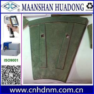 China asphalt mixer plant casting liner plate parts on sale