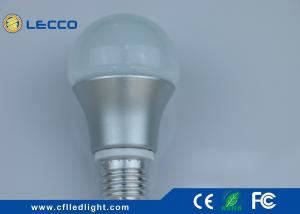 China Home Lighting E27 LED Bulb Lights 7W 6000K With Isolated Driver 100 LM / W on sale