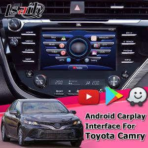 China Android carplay interface for Toyoat Camry V70 2018 to present touch n go 3 GPS navigation youtube interface on sale