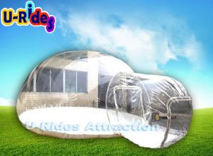 China 6M Diameters Inflatable Bubble Tent , Transparent Dome Tent For Camping on sale