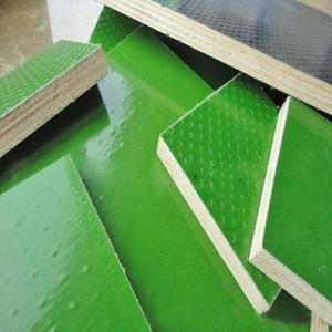 China Indoor / Outdoor Plastic Laminated Plywood Concrete Formwork Panels Easy To Use on sale