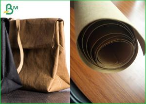 China Virgin And Natural Fabric Material Kraft Liner Paper For Handbags And Jeans on sale