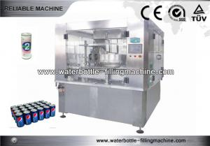 China Soft Drink Can Filling and Sealing Machine , JuiceFilling Line 12 Heads on sale