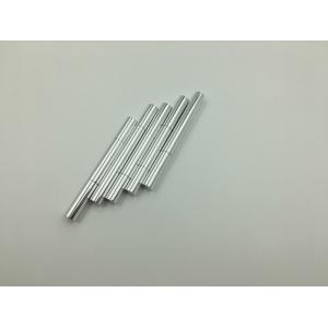 Quality 2 Ml Silver Aluminum Empty Twist Pen With Brush Tip And Window For Cosmetic for sale