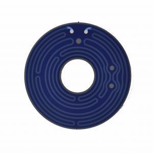China 12V 24V 36V 180 Degree Electric Polyimide Thick Film Heater on sale