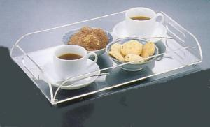 China acrylic service tray,restaurant tray,food service tray,Universal Serving Tray,acrylic pastry tray on sale