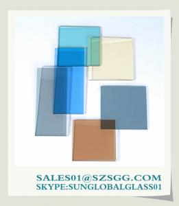 China High quality Float Glass Tinted Glass Factory on sale