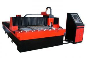 China Highe Speed Laser Metal Cutting Machine , 220v / 380v 6KW Fiber Laser Cutting Machine on sale