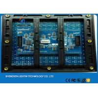 China Sport DIP LED Display Accessories / p10 LED display module with High Brightness on sale