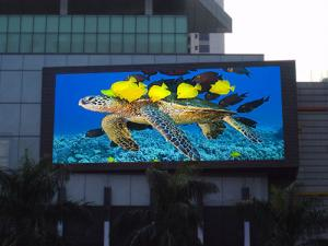 China Outdoor Led Advertising Screen Displays for Schools or Shops and Malls P20 on sale
