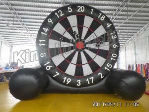 China New Giant  Soccer Game Inflatable Sports Games Football Dart Board on sale