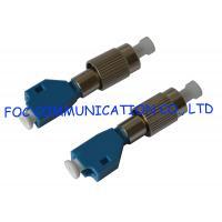 FC Male to LC Female Hybrid Fiber Optic Adapter , optical fiber coupler Telecom Use