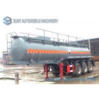 3 Axle Sulphuric Acid 18000L Fuel Tanker Semi Trailer 9980*2490*3800mm