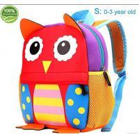 China Friendly neoprene Little Kids Cute Animals Backpack Preschool Bags Waterproof for Toddler,kindergarten kids on sale