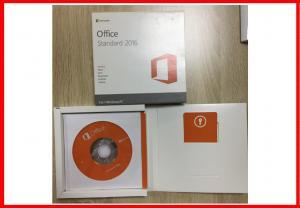 China Original Key Microsoft Office 2016 Standard DVD + Key Card English Version on sale