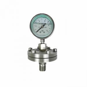 China Air oil water mpa diaphragm seal bourdon tube 300 bar pressure gauge price on sale