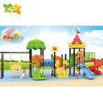 Garden Backyard Plastic Playground Slide Outdoor Children'S Plastic Swing Slide