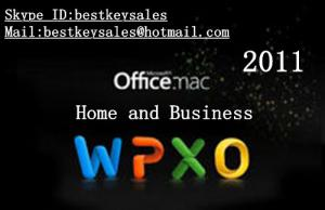 Quality Microsoft Office 2011 Home & Business MAC FPP Key For Microsoft Office Product for sale