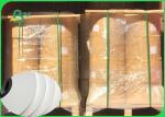 15mm Color Printed Food Grade White Straw Paper No Harm Eco - Friendly In Rolls