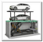 Scissor Type Vertical Car Stacker/ Double Stack Parking System Scissor Type Car Parking Platforms
