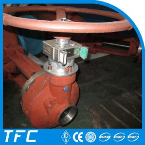 China mechanical manual gear operated gate valve with interlock on sale