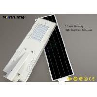 China Luminarias Outdoor Solar Street Lamps 30 Watt 5700K Remote Control on sale