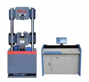 China Hydraulic Universal Tensile Testing Machine 300 - 600kn 100 200 Ton Computerized on sale
