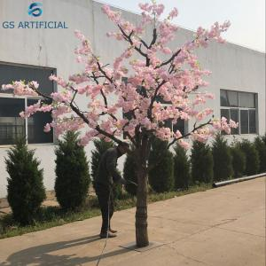 China Artificial Outdoor Cherry Blossom Tree For Wedding Decoration 4 Meters on sale