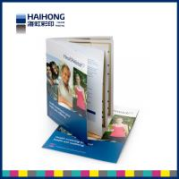 Perfect bound semi coated paper catalogue printing , full color catalog printing