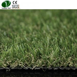 China Fibrillated Polypropylene Artificial Grass Mat For Home Garden Yarn Fake on sale