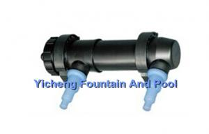 China Fish Pond Filtration UV Light Sterilizer For Aquarium And Ponds Water Treatment on sale