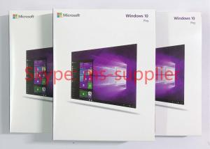 Quality Original Microsoft Windows 10 Proffesional Retail Software Including Full Data for sale