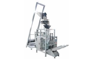 China PLC Control Red Beans Packaging Machine Dosing by Voluemtric Filler on sale