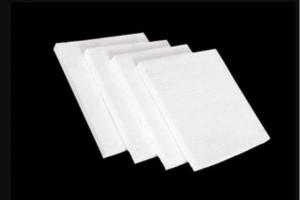 China High Temperature Ceramic Blanket Ceramic Fiber Insulation Board Pure White on sale