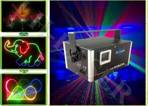 China 1.5 Watts Moving Head Stage Lighting Laser Show Lights RGB Projector With ILDA interface on sale