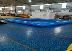 China Easy Setup Portable Water Pool With Waterproof Plato PVC Tarpaulin on sale