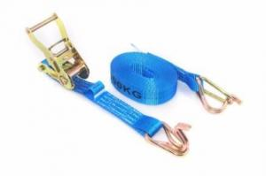 China Multi Length 100% Polyester Ratchet Tie Down with 1tons capacity on sale