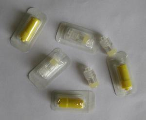 China CE/ISO Approved Medical Supply Medical Disposable Transparent Heparin Cap on sale