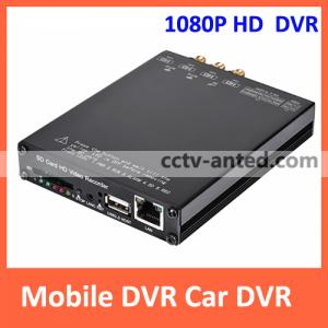 China Mobile DVR 1080P HD H.264 Vehicle Car SD Card Video Recorder 4 channel support GPS on sale