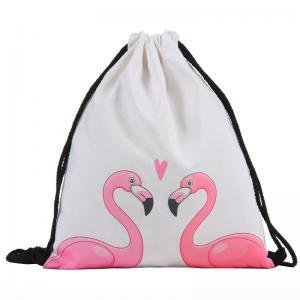 China Oem Women'S Drawstring Backpack , Lightweight Drawstring Knapsacks For Gym on sale