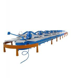 China Automatic T-shirt  Screen Printing Oval Machine on sale
