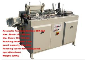 China Notebook punching machine SPA 320 on sale
